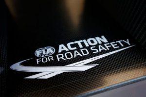 FIA Action for Road Safety sticker, FIA Formula 3 European Championship, round 7, Zandvoort (NED) - 10. - 12. July 2015